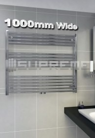 1000mm Wide Bathroom Towel Radiators & Heated Rails