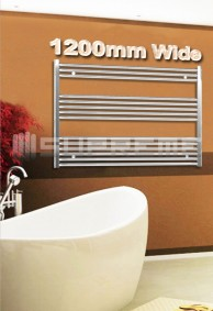 1200mm Wide Bathroom Towel Radiators & Heated Rails
