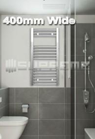 400mm Wide Towel Radiators & Heated Bathroom Rails
