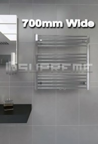 700mm Wide Towel Radiators & Heated Bathroom Rails