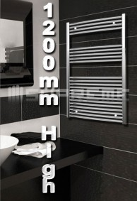 1200mm High Bathroom Towel Radiators & Heated Rails