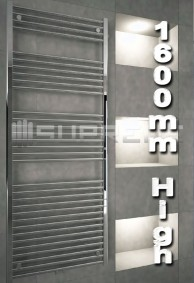 1600mm High Bathroom Towel Radiators & Heated Rails