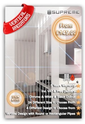 Designer Vertical Radiators