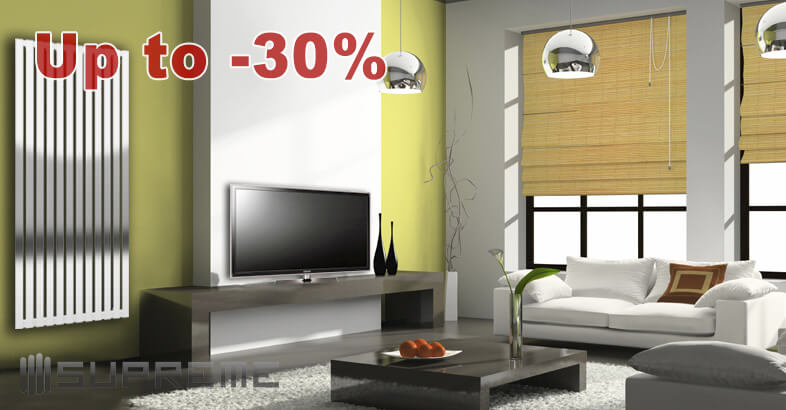 High quality, stylish Supreme Designer Vertical Radiators at affordable prices; up to 30% off from RRP!